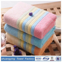 China factory sale directly new design 100% cotton walmart bath towels