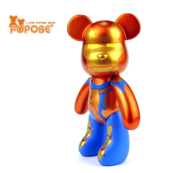 Promotional Item Customized Hot Selling Plastic Bear Accessories Bear Toy