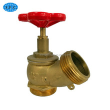 BSP water steam brass fire angle stop valve