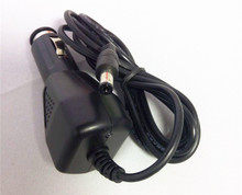 black color factory price 12.6v 1a car battery charger with cable for mobile phone
