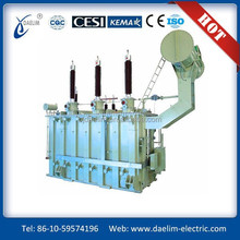Hot sale 110kV 121KV three phace two winding on load tap changing power transformer electransformer
