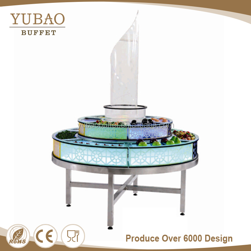 Luxury Led sushi bar bar counter, sushi counter, sushi counter top moveable display cooler