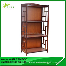 Factory Promotion Painting Bamboo Storage Rack