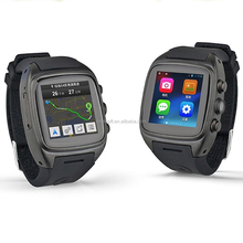 X01Sweatproof Watch Monitor Smart Watch Phone for iPhone 5s/6/6s and 4.2 Android or Above SmartPhones-Silver/Black/Gold