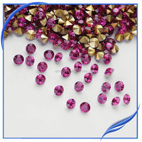 High quality glass jewelry making point back chaon strass stone