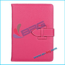BRG-Luxury folio leather case for ipad 5,For ipad air cover stand