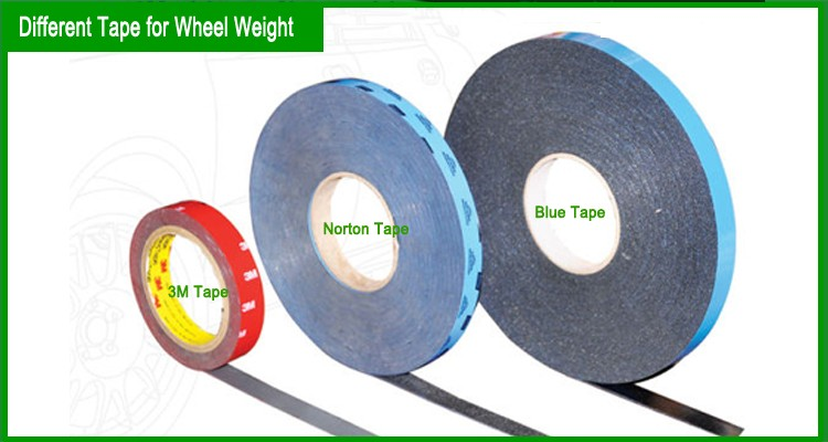 china supplier right price fe adhesive wheel balance weights/steel wheel weights adhesive tape