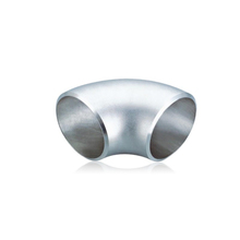 High quality butt welded stainless steel threaded pipe fitting 90 degree elbow