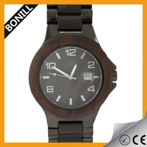 Custom Trade Assurance Bamboo Wooden Watches 2016 ,Best Christma Gift For Men