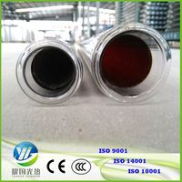 China Manufacturer 3 Target Coating Heat Pipe Solar Collector Tubes