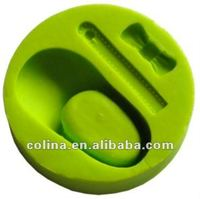 Baby shoe silicone fondant mold, Cake decoration mould