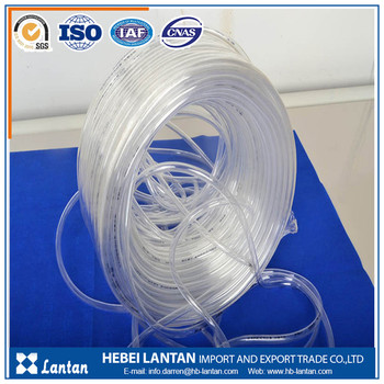 Best quality non toxic odorless pvc transparent fluid hose