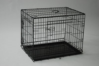 Folding metal wire mesh dog cage for USA market