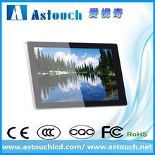 15.6 inch multi touch points true flat surface pcap touch screen monitor