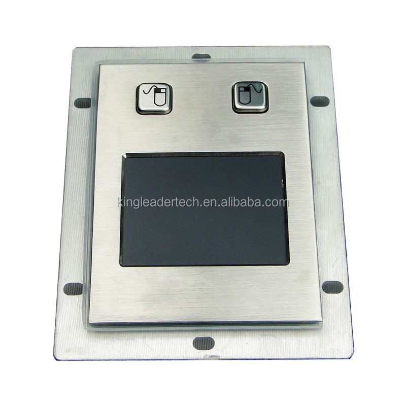 Industrial pointing device metal touchpad mouse