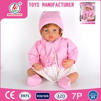 2016 newest style 18 Inch cotton doll silicone reborn doll for sale