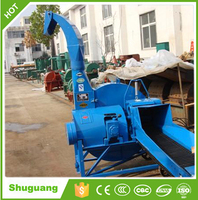 Corn straw crusher machine