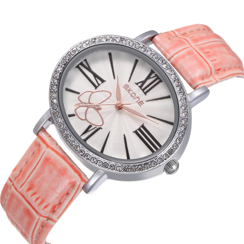 Hand Watch for Girl SKONE New Design Fashion Ladies Watch Hands Clock