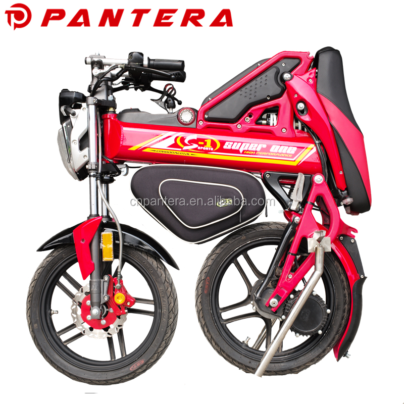 2016 48V EEC 1500w Cheap Foldable Folding Electric Motorcycle