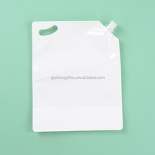 Food grade plastic laminated bag with nozzle
