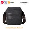 Multifunction Men's Small Messenger Shoulder Cross Body Bags Canvas Bags Grey