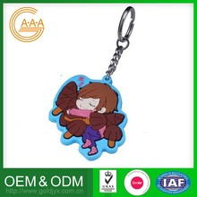 Golden Supplier Lowest Price Silicone Key Ring Colorful Silicone Keyring