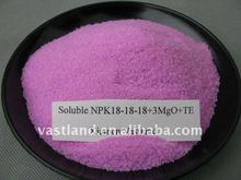 Soluble NPK Fertilizer 18-18-18+TE
