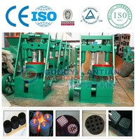 Professional manufacturer factory direct sell sawdust briquette charcoal making machine