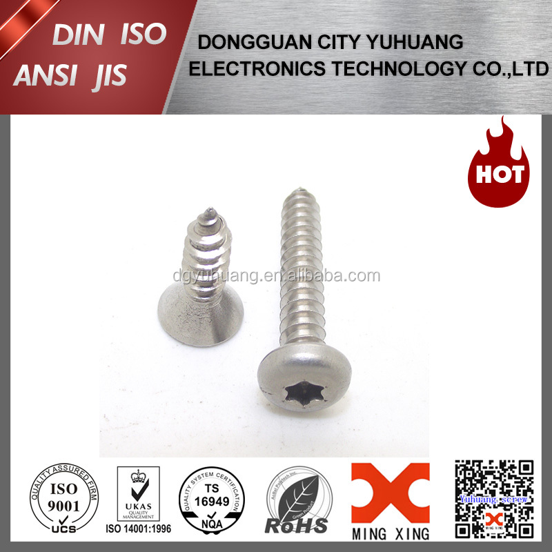 Pan head hex socket wood screw for furniture