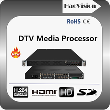 ALL In one cable tv equipment including professional fta ird,ASI/IP multiplexer,streamer,Scrambler,DVB-C qam modulator