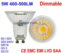 High CRI bulb e27 / mr16 / gu10 holder NO NEED DRIVER led warm / natural / cool white COB dimmable spotlight