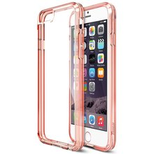 TPU Back PC Full Protector transparent phone case for iphone7