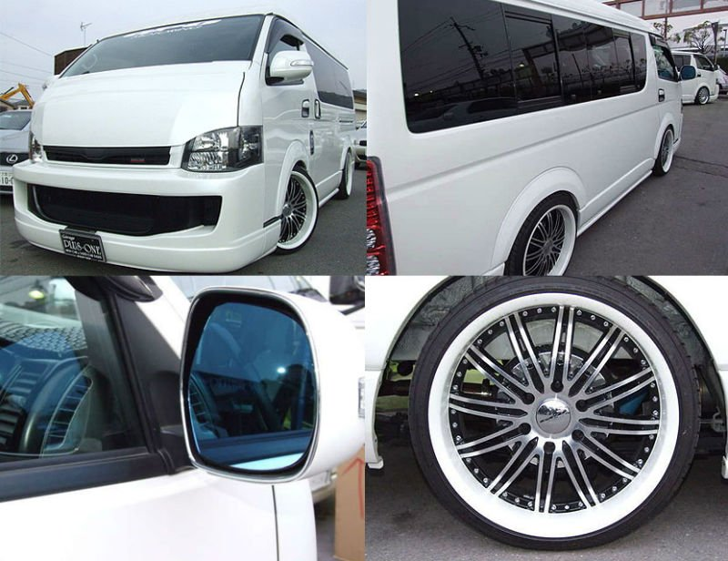 Toyota Hiace 2.7 GL Long Middle roof GPO model
