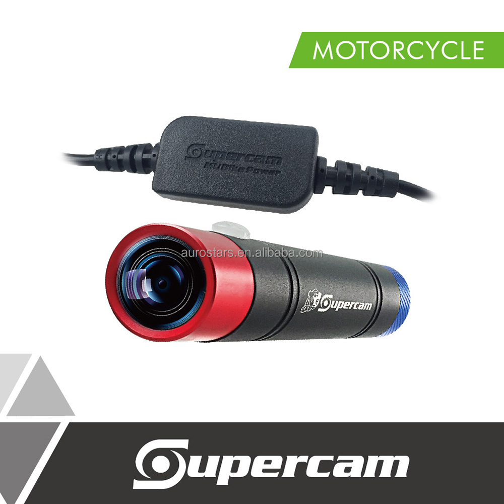 Best Quality Full HD Clown Edition Motorcycle DVR Camera with Motorcycle Charger Cable