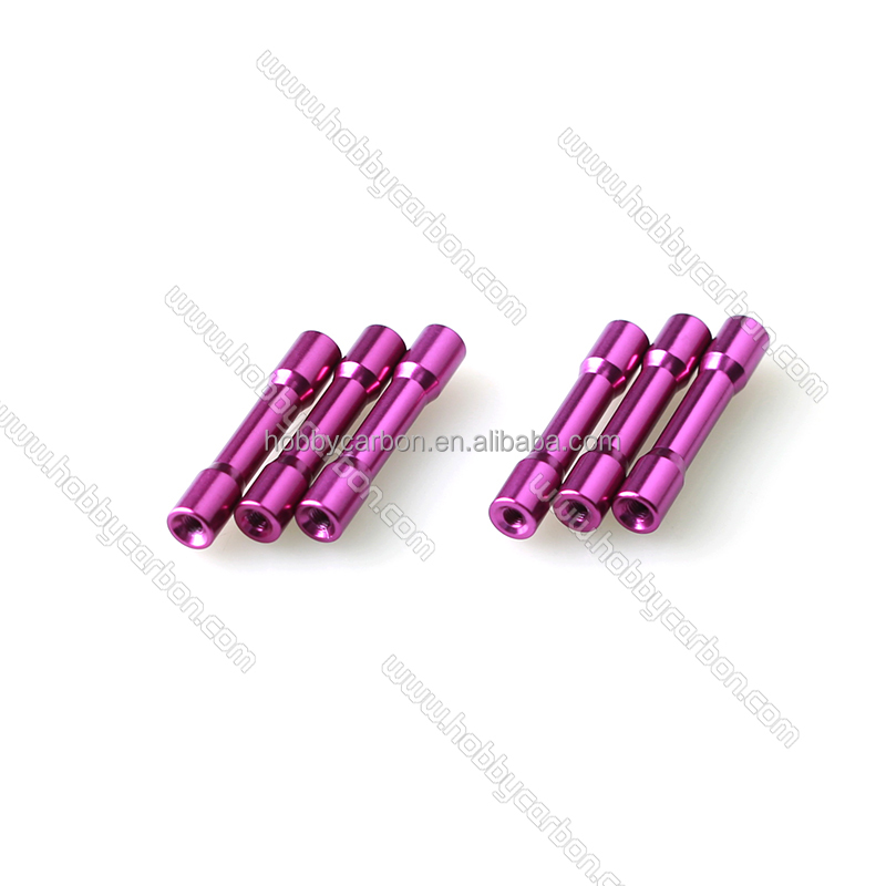 M3 Spacer, Anodized Round Aluminum Step Spacer for FPV Model