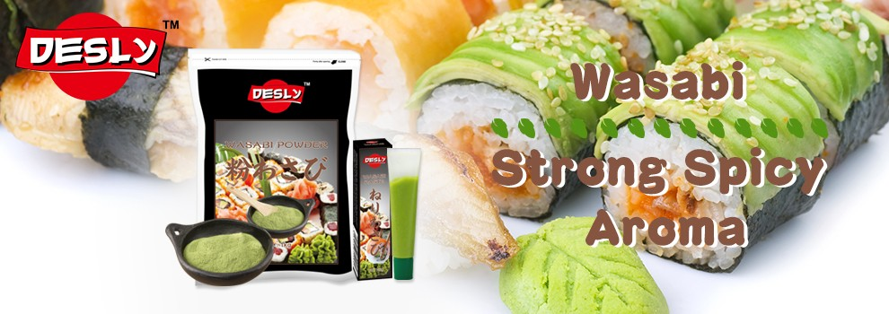 New spicy wasabi powder manufacturer for sushi and sashimi food