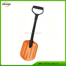 Creditable supplier, wide range of option, color customized, aluminum blade, Emergency Car Snow Shovel