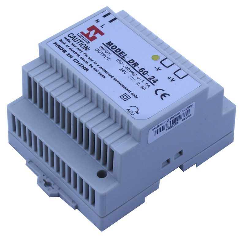 1 - 50W Output Power and 220V Input Voltage din rail power supply