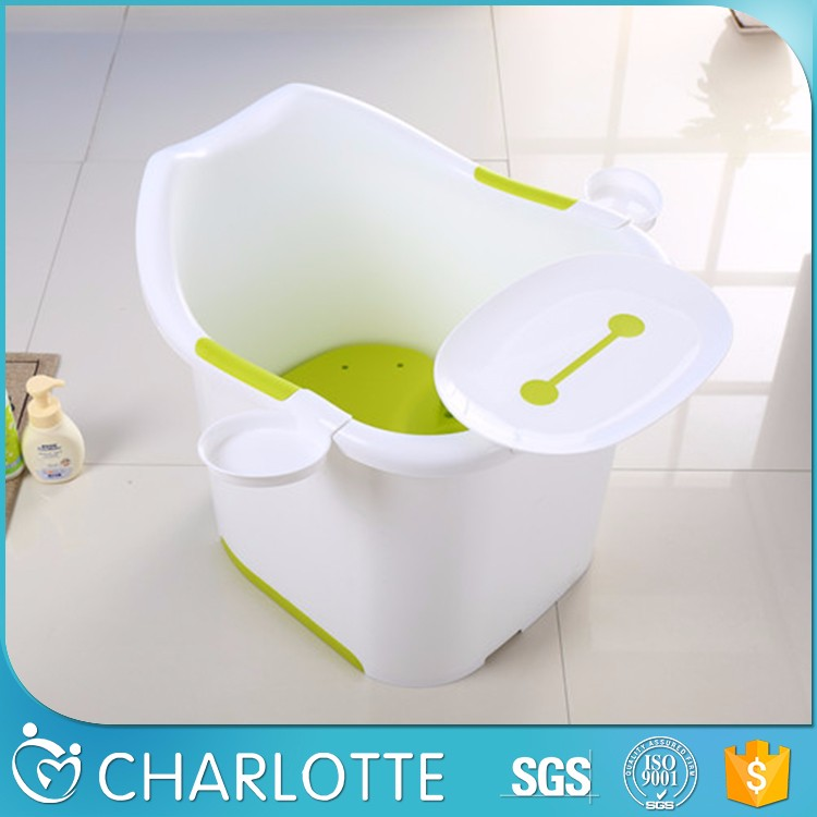 kids high quality plastic baby big bath bucket plastic tablet stand