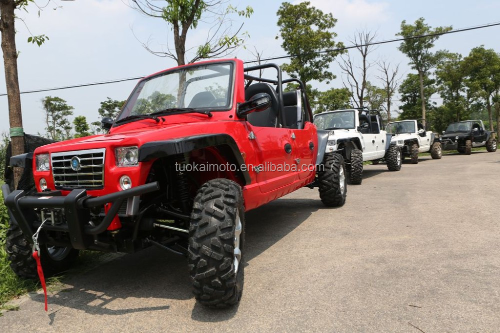 1100cc EPA approved EFI chery engine 4x4 4seats UTV for sale