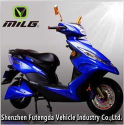 China 1200w electric battery powered motorcycle for adults