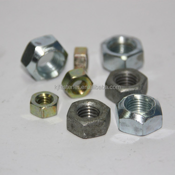 Best price of wholesale Galvanized hex bolt nut