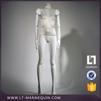 Fashion display adjustable tailor female mannequin young woman mannequin