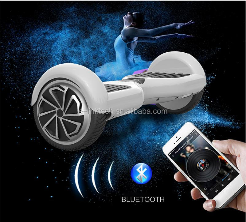 E Scooter 2 Wheel Smart Self Balance Electric Scooter with Bluetooth and Led Light Samsung Battery
