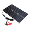 Portable Solar Panel 18V 18W Solar Car Battery Maintainer Charger for Automobile Motorcycle Car Boat Tractor.