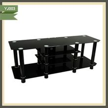 silver mdf lcd rattan furniture lcd automatic tv stands