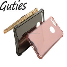 frame TPU Mirror cell phone case For iphone 7 7 plus Cover