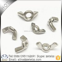 China DIN315 Stainless Steel 304 Wing Nuts