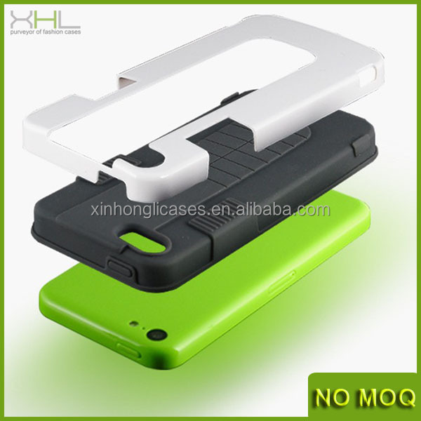 PC + Silicone Hybrid Case for Apple iPhone 5/5S Cases / Cover