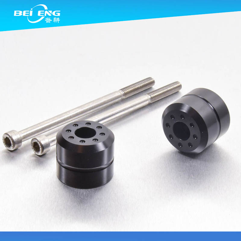 CNC machining motorcycle parts 7075 T6 aluminum bar ends China factory price